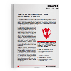 Hitachi Systems Security - ArkAngel_Brochure_