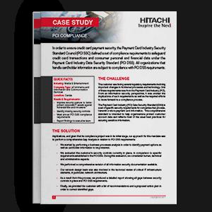 Hitachi Systems Security - Case Study PCI Compliance