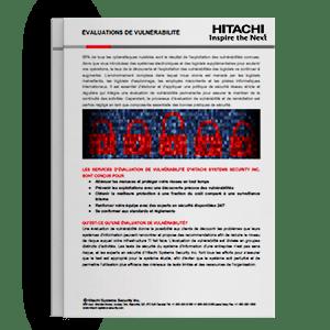 Hitachi Systems Security - Evaluations de vulnérabilité Brochure