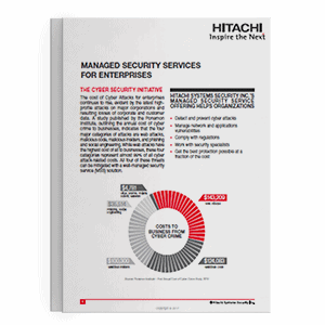 Hitachi Systems Security - MSS for Enterprises