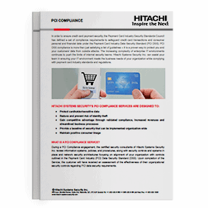 Hitachi Systems Security PCI Compliance Brochure