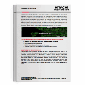 Hitachi Systems Security Test d'Intrusion