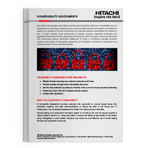Hitachi Systems Security - Vulnerability Assessments Brochure